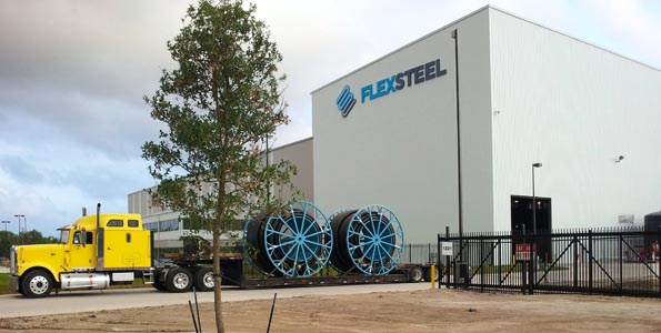 FlexSteel's Baytown manufacturing facility